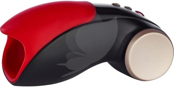 Pánský masturbátor FunFactory Cobra Libre 2 Supersport černo-červená