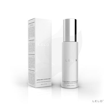 Antibakteriální čisticí sprej LELO 60 ml čirá, flakonek bílá