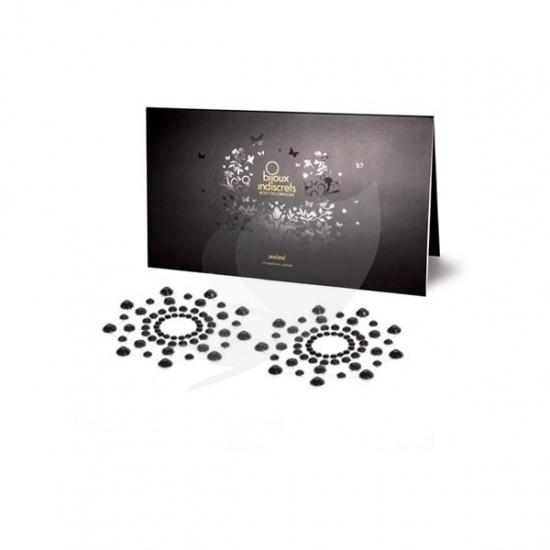 Bijoux Indiscrets Mimi Classic - ozdoby na bradavky černá