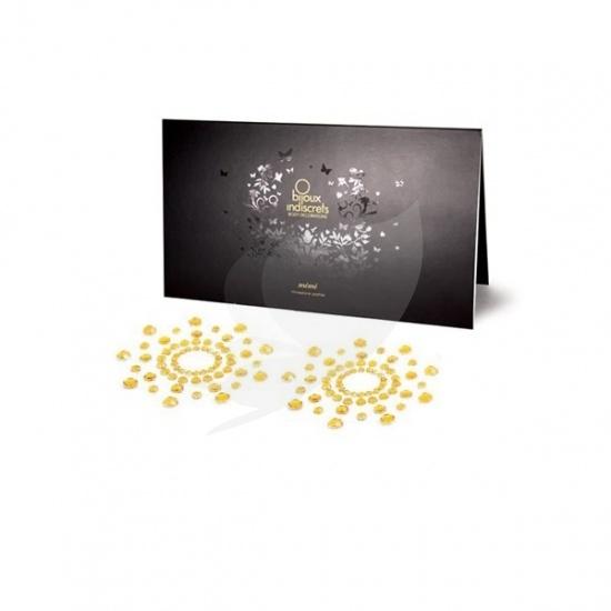 Bijoux Indiscrets Mimi Classic - ozdoby na bradavky zlatá
