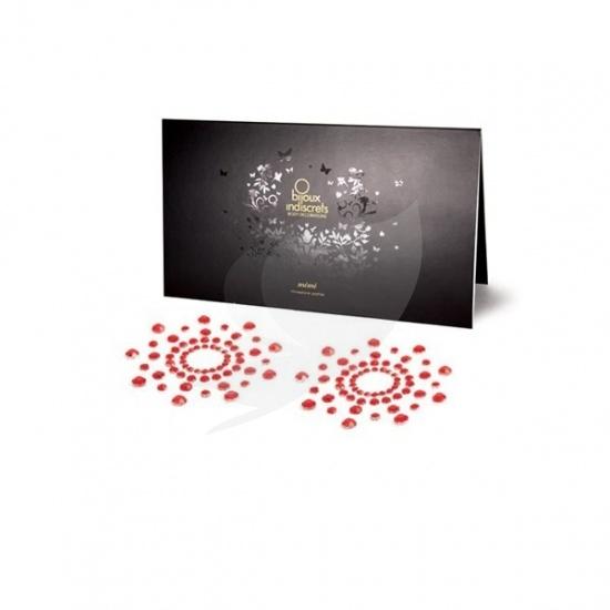 Bijoux Indiscrets Mimi Classic - ozdoby na bradavky červená