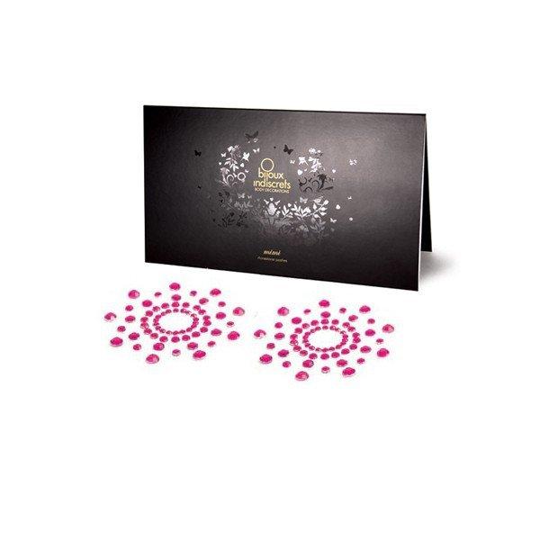 Bijoux Indiscrets Mimi Pink - ozdoby na bradavky růžová